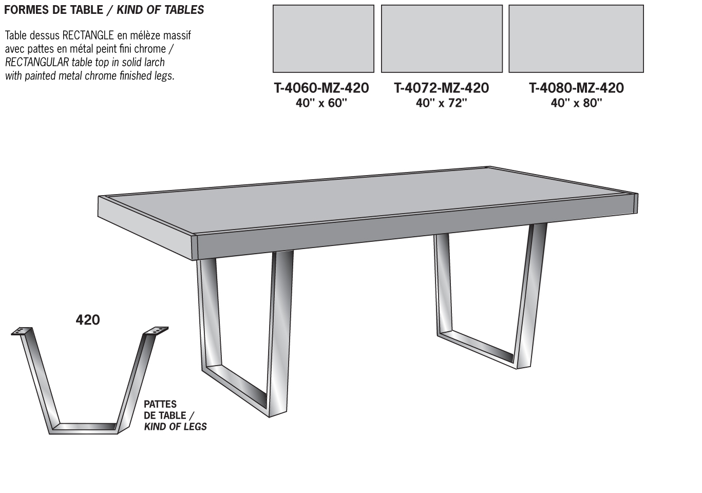 Viebois catalogue rustica salles manger - Table de dessin ikea ...